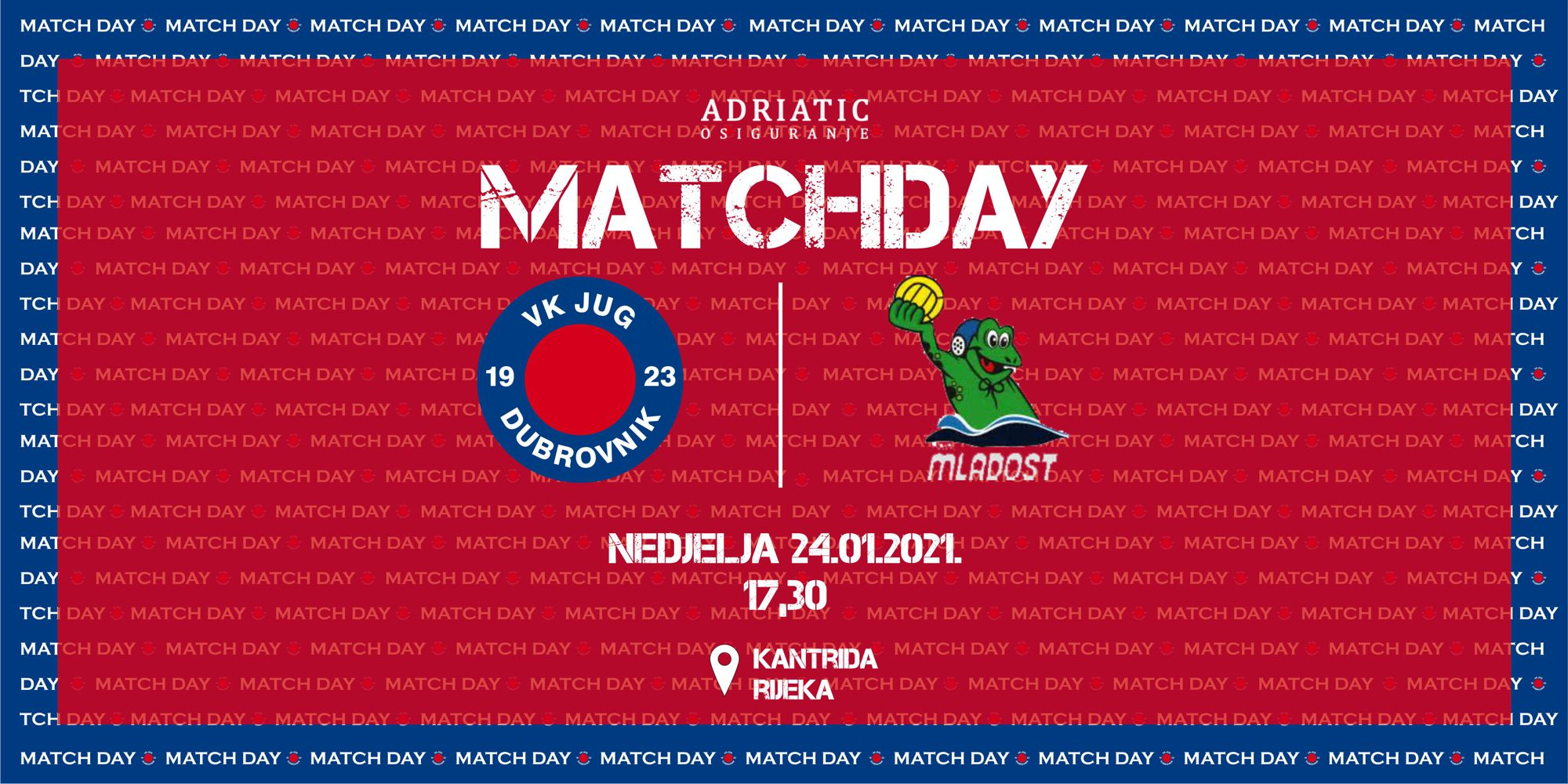 jug-mladost kup matchday web